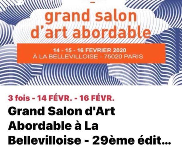 Grand Salon d'Art La Bellevilloise