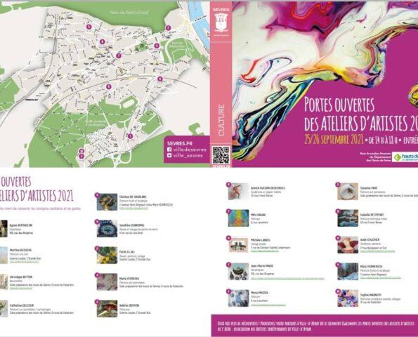 Ateliers d'Artistes 2021 Sèvres
